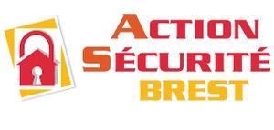 Logo serrurier Action securite