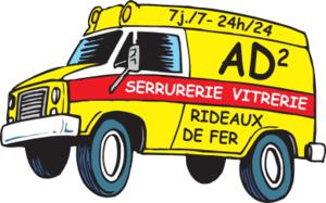 Logo serrurier AD2
