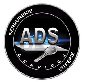 Logo serrurier Ads services