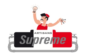 Logo serrurier Artisans supreme