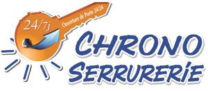 Logo serrurier Chrono serrurerie vitrerie