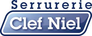 Logo serrurier Clef niel