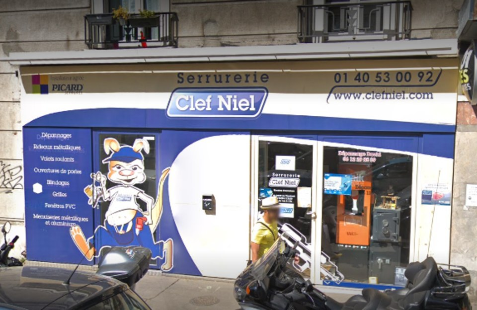 Serrurier Paris Clef Niel