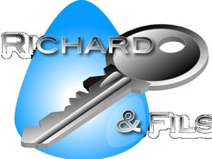 Logo serrurier Ets Richard et fils