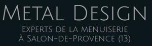 Logo serrurier Metal design