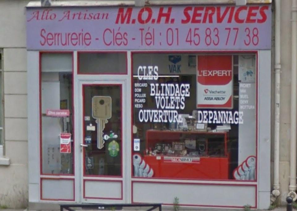 serrurier paris moh services