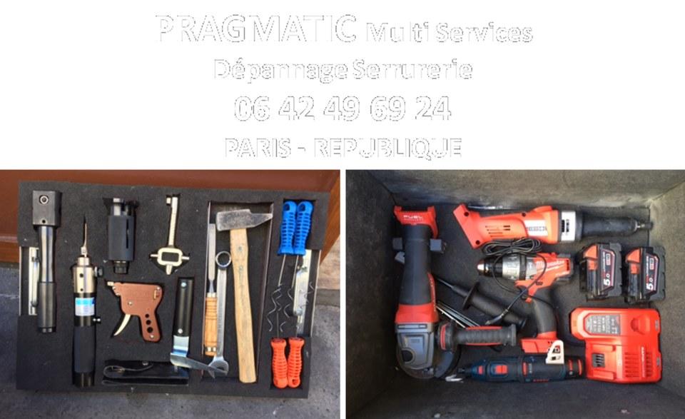 Avec les bons outils on ne fait pas de dégâts inutiles...