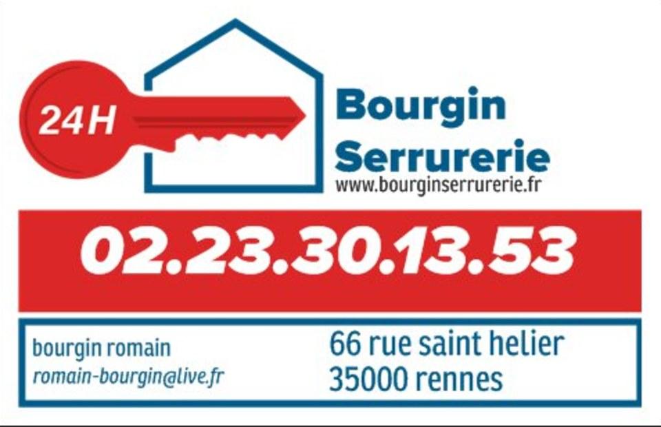 Serrurier Bourgin Rennes