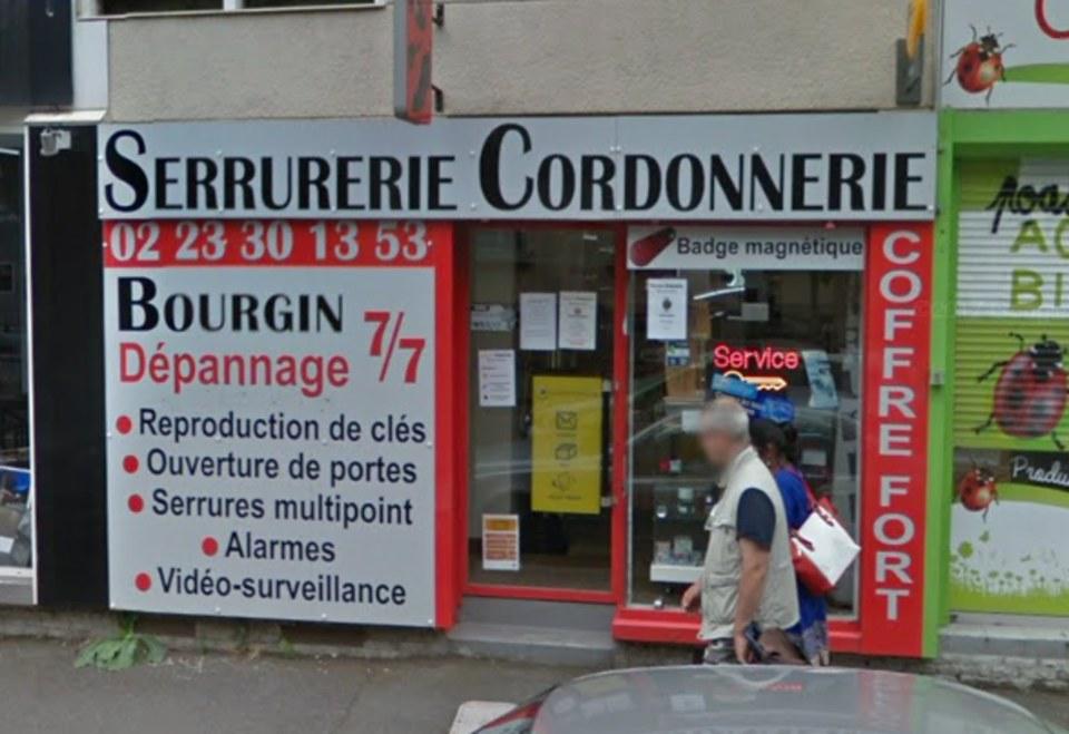 Bourgin Serrurier à Rennes (boutique)