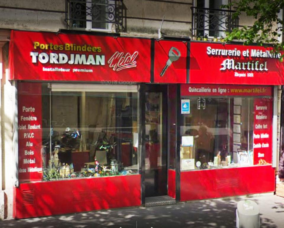 Serrurerie Martifel Paris 17
