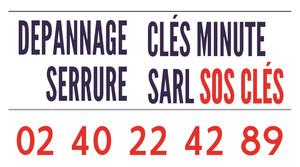 Logo serrurier Sos cles